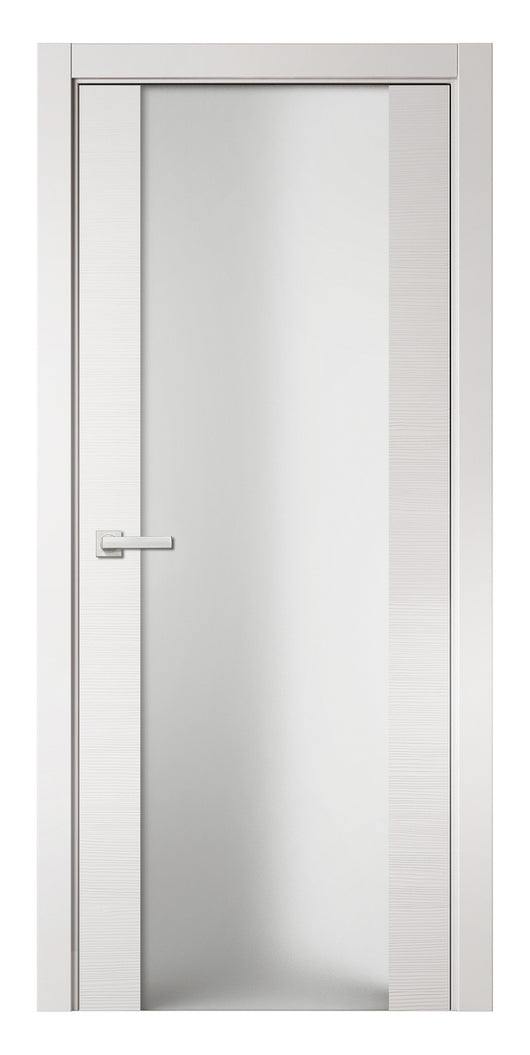 Sarto Avant 4034 Interior Door White Taeda Triplex Glass