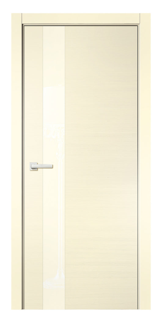 Sarto Avant 4035 Interior Door Taeda Ivory Lacobel Glass