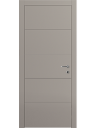 Sarto Linea 8043 Interior Door Matte Dark Gray