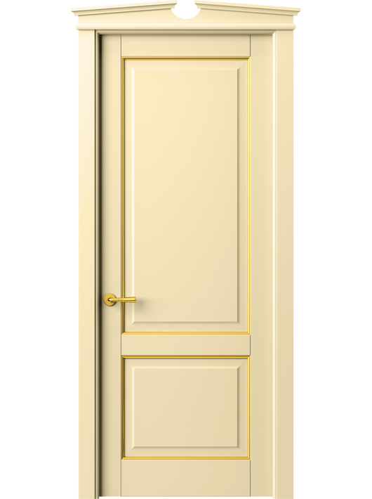 Sarto Toscana Plano 6303 Interior Door Beech Ivory With Gold