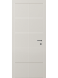 Sarto Linea 8044 Interior Door Matte Gray