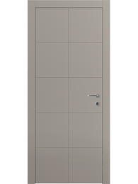 Sarto Linea 8044 Interior Door Matte Dark Gray