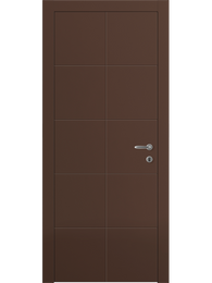 Sarto Linea 8044 Interior Door Matte Chocolate