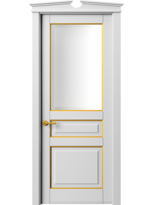 Sarto Toscana Plano 6304 Interior Door Snow-White Beech With Gold