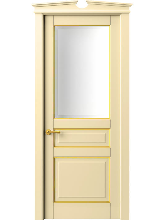 Sarto Toscana Plano 6304 Interior Door Beech Ivory With Gold