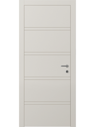 Sarto Linea 8045 Interior Door Matte Gray