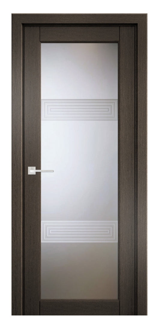 Sarto Ego 6112 Interior Door Royal Oak 3D Glass