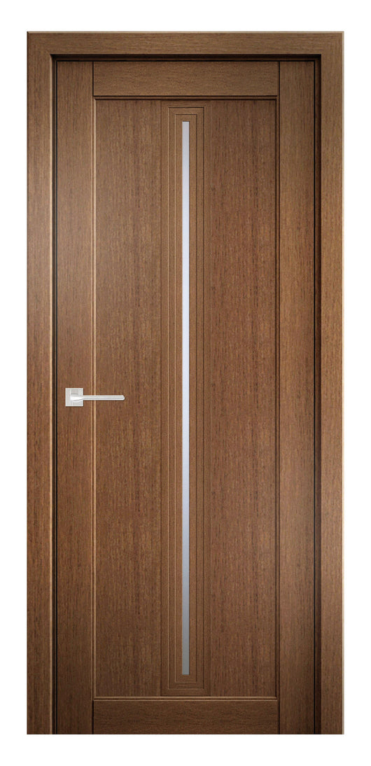 Sarto Ego 6123 Interior Door Honey Oak Satin Glass