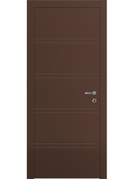 Sarto Linea 8045 Interior Door Matte Chocolate