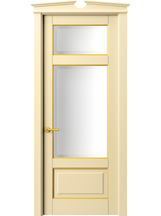 Sarto Toscana Plano 6306 Interior Door Beech Ivory With Gold