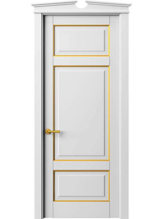 Sarto Toscana Plano 6307 Interior Door Snow-White Beech With Gold