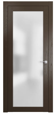 Sarto Planum 2102 Interior Door Ash Chocolate Vertical