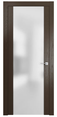 Sarto Planum 4114 Interior Door Ash Chocolate Vertical
