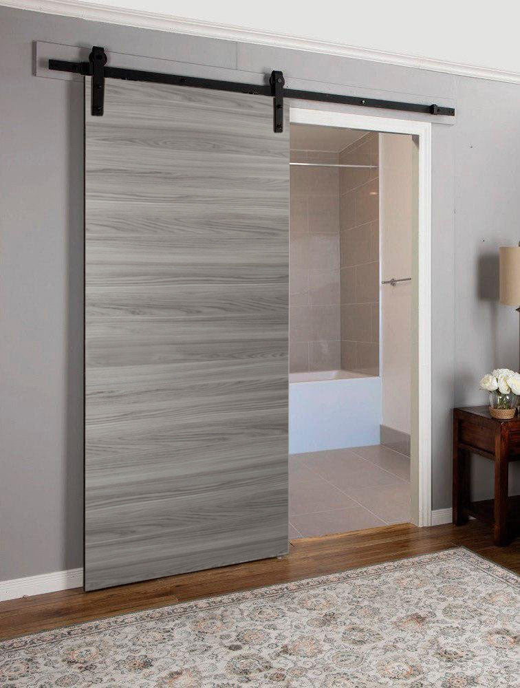 Planum 0010 Sliding Interior Modern Barn Door Ginger Ash