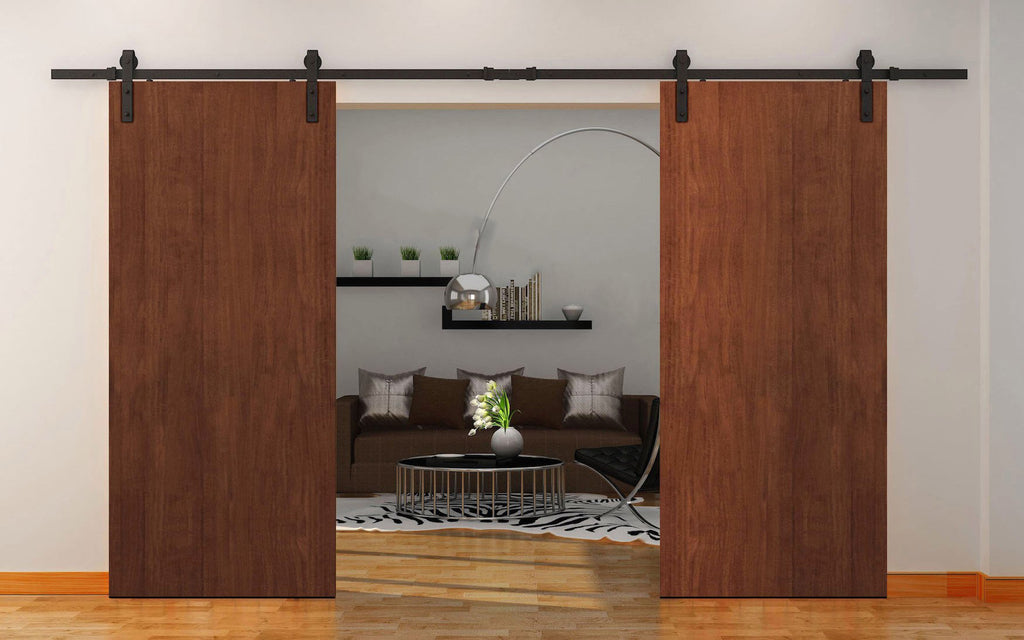 Planum 0010 Modern Interior Solid Wood Flush Closet Double