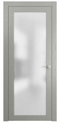 Sarto Planum 2102 Interior Door Dark Gray Ash Vertical
