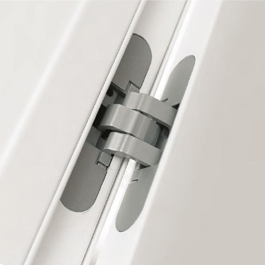 ... Concealed Hinges AGB Eclipse 2.0 Satin Chrome Interior Doors 1 Set ...
