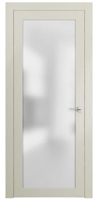 Sarto Planum 2102 Interior Door Milky White Ash Vertical