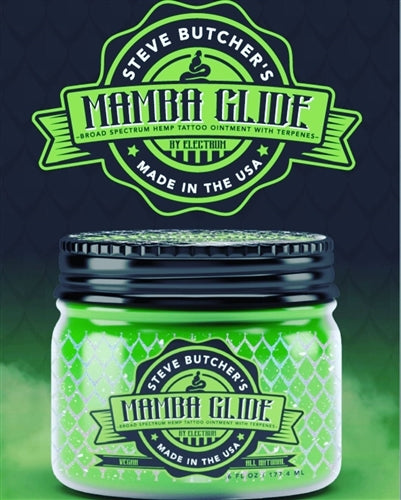 Steve Butcher's Mamba Glide Tattoo Glide Aftercare - FYT USA