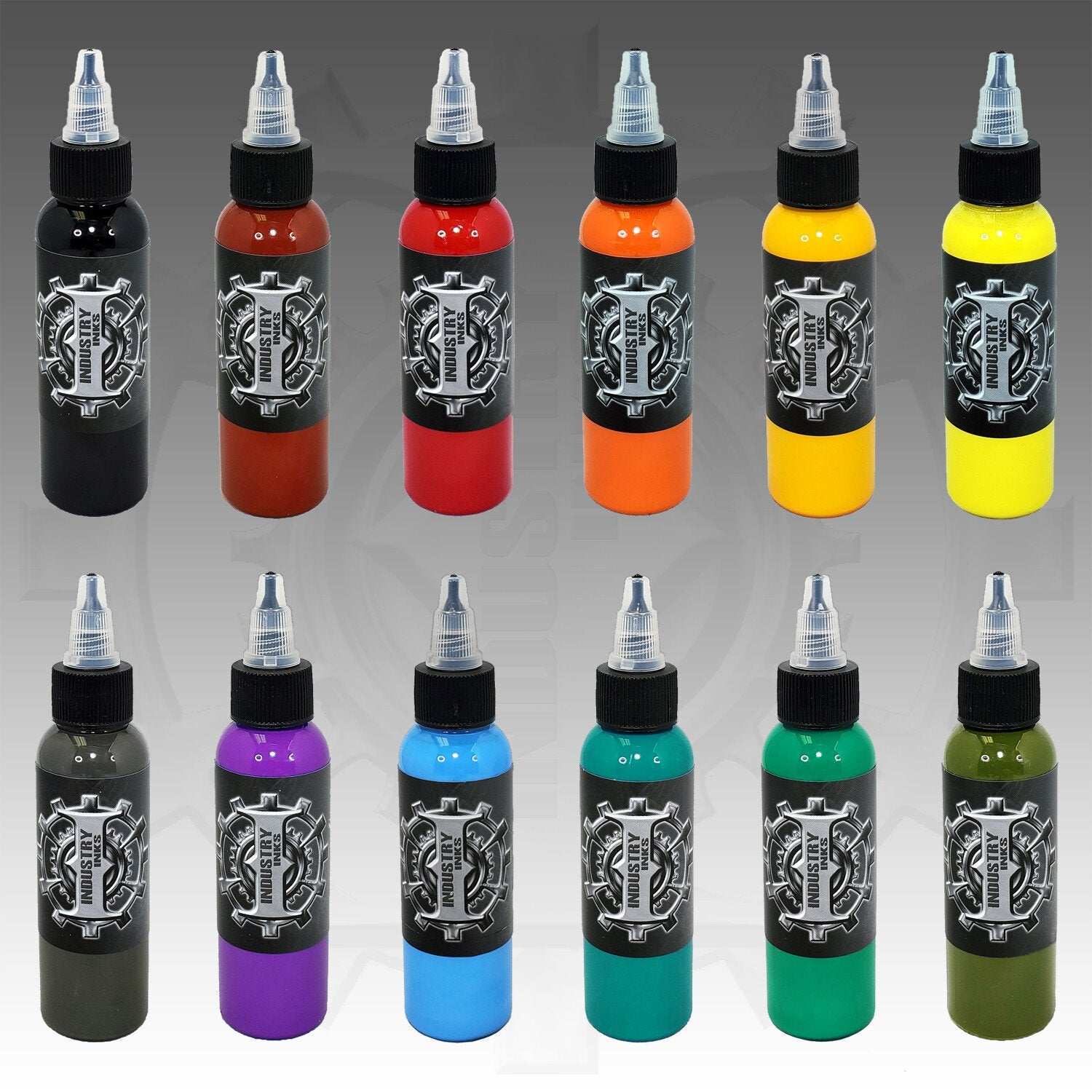 Industry Ink Traditional Plus Set - Tattoo Ink - FYT USA