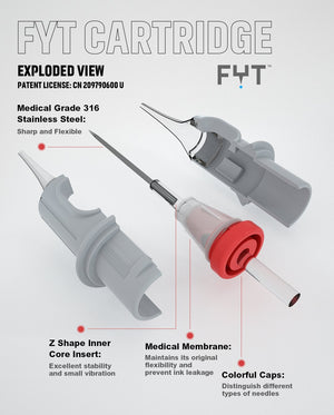 Round Liner Cartridges V2 - Cartridges - FYT USA