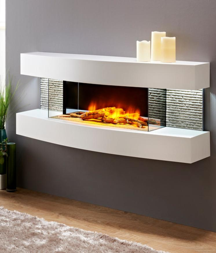 Texas and Miami Curve Product for The Electric Fireplace Shop