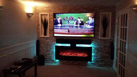 Custom Designed Electric Fireplace Toronto