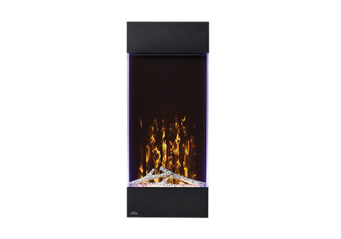 Napoleon Allure Vertical Wall Mount Electric Fireplace - NEFVC32H & NEFVC38H