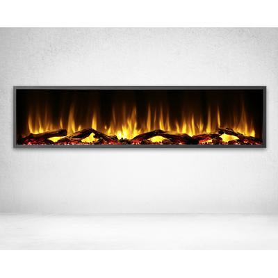 "Dynasty Harmony Series Logs Built-in 64"" Electric Fireplace - DY-BEF64"