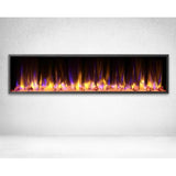 "Dynasty Harmony Series Crystals Built-in 64"" Electric Fireplace - DY-BEF64"