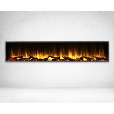 "Dynasty Harmony Series Logs Built-in 80"" Electric Fireplace - DY-BEF80"