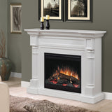 Dimplex Winston Electric Fireplace Mantel Package in White - DFP26-1109W