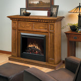 Dimplex Caprice Electric Fireplace Mantel Package Oak