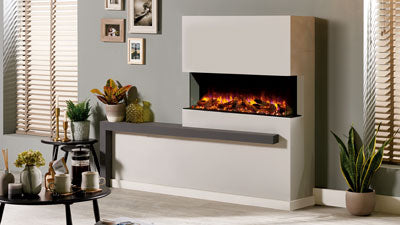 "Regency Skope 43"" Built-in multi-sided electric fireplace - E110"