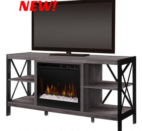 Dimplex Ramona Electric Fireplace Media Console in Autumn Bronze