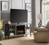 Dimplex Ramona Electric Fireplace Media Console in Autumn Bronze GDS23L8-1974AU