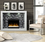 Dimplex Crystal Electric Fireplace Mantel Package W/ Acrylic Ice - GDS28G8-1944W