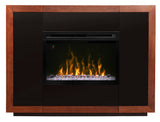 Salazar Electric Fireplace Mantel Package in Mocha