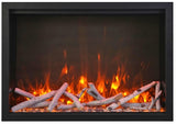 "Amantii 48"" TRD Electric Fireplace Birch Logs"