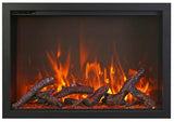 "Amantii 38"" TRD Electric Fireplace"