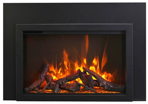 "Amantii 33"" TRD Insert Electric Fireplace Traditional"