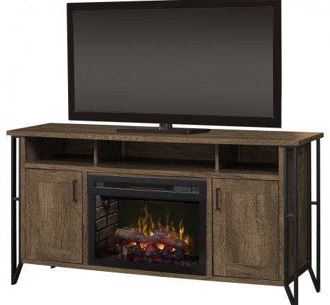 Dimplex Tyson Electric Fireplace Media Console Log Set GDS25LD-1873FM
