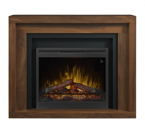 Dimplex Anthony Electric Fireplace Mantel Package in Natural Walnut GDS28L8-1942WL
