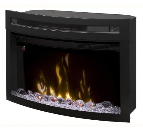 "Dimplex 25"" Multi-Fire XD Curved Electric Fireplace Insert - PF2325CG"
