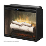 "Dimplex Revillusion 24"" Built-in Birch Logs Firebox -  RBF24DLXWC"
