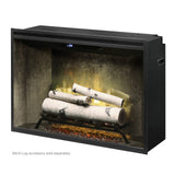 "Dimplex Revillusion 36"" Built-in Firebox - Birch Logs"