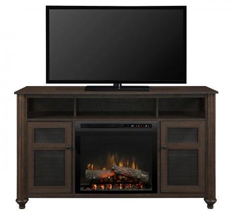 Dimplex Xavier Electric Fireplace Media Console Realogs(XHD) GDS23L8-1904GB
