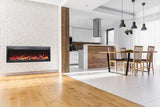 Amantii SYM-50 BESPOKE Kitchen Series Electric Fireplace