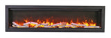 Amantii SYM-50 BESPOKE Birchwood Series Electric Fireplace