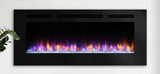 "Hearth & Home 60"" Allusion SimpliFire Wall Mount Electric Fireplace - SF-ALL60-BK"